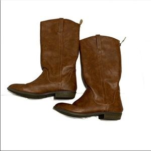 Cat & Jack brown riding boots